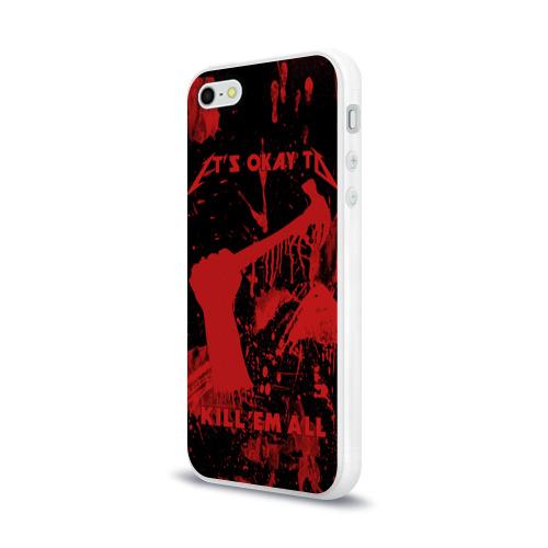 Чехол для Apple iPhone 5/5S силиконовый глянцевый  Фото 03, Kill 'Em All