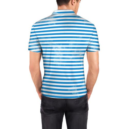 Мужская рубашка поло 3D  Фото 04, ВДВ