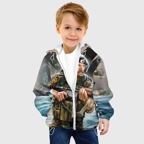 Детская куртка 3D  Фото 03, ВДВ