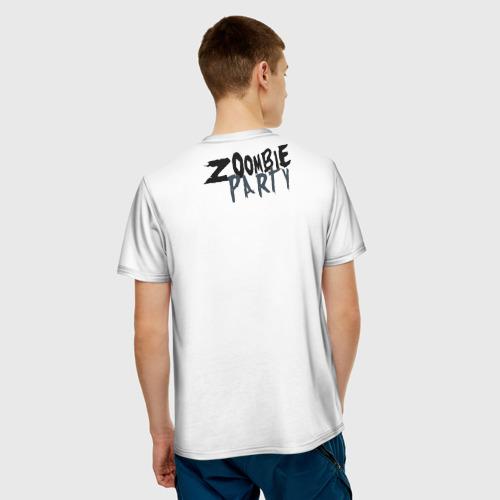 Мужская футболка 3D  Фото 02, Zoombie Party