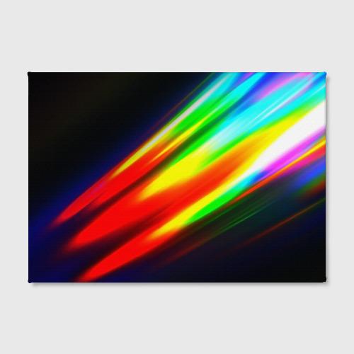 Холст прямоугольный  Фото 02, Цветные блики