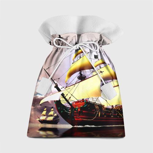 Подарочный 3D мешок Фрегат