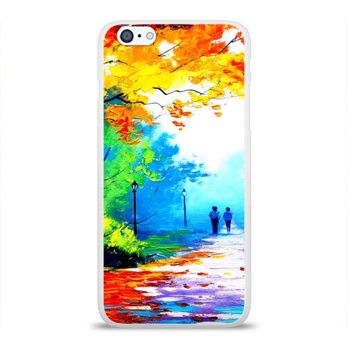Чехол для Apple iPhone 6Plus/6SPlus силиконовый глянцевый  Фото 01, Прогулка
