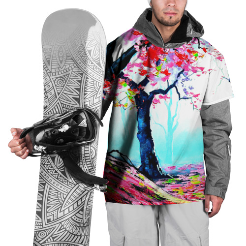 Накидка на куртку 3D  Фото 01, Сакура
