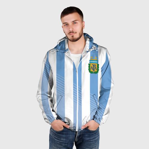 Мужская ветровка 3D  Фото 03, Сборная Аргентины по футболу