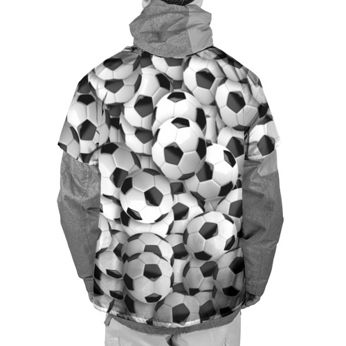 Накидка на куртку 3D  Фото 02, Футбольные мячи