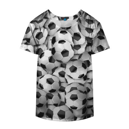 Накидка на куртку 3D  Фото 04, Футбольные мячи