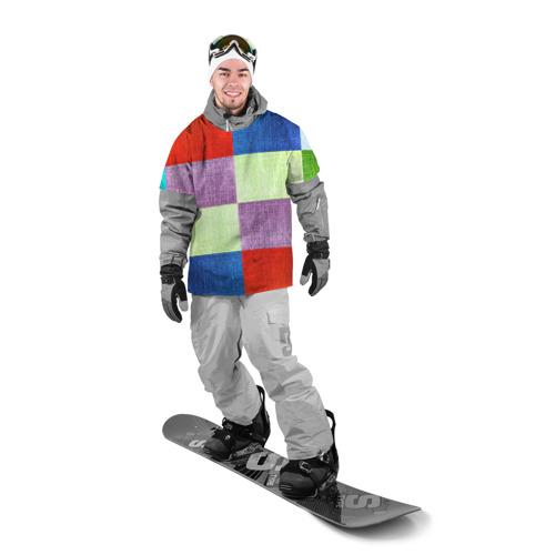Накидка на куртку 3D  Фото 03, Лоскутное шитье