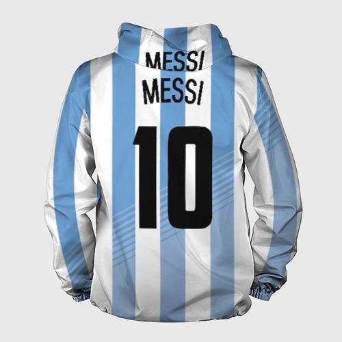 Мужская ветровка 3D  Фото 02, Месси (сборная Аргентины)