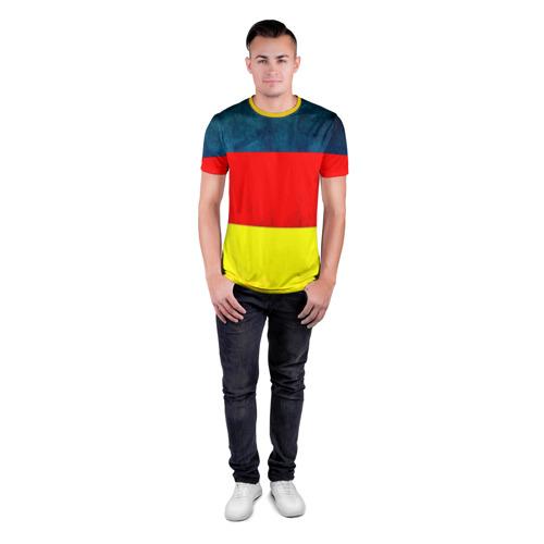 Мужская футболка 3D спортивная Германия Фото 01