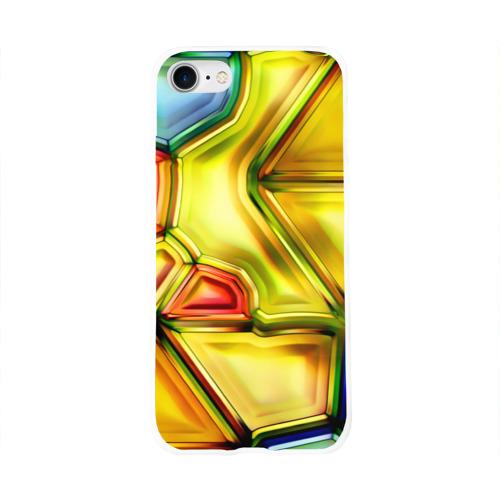Чехол для Apple iPhone 8 силиконовый глянцевый  Фото 01, Витраж 2