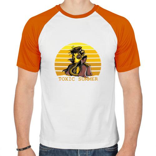 Мужская футболка реглан  Фото 01, Toxic Summer