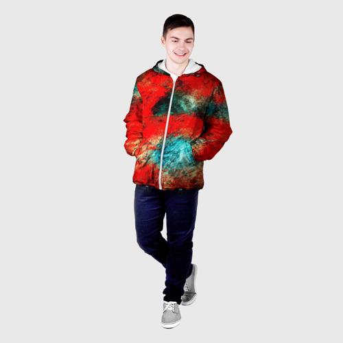 Мужская куртка 3D  Фото 03, Граффити