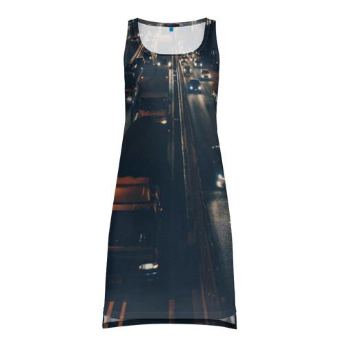 Платье-майка 3D дорога