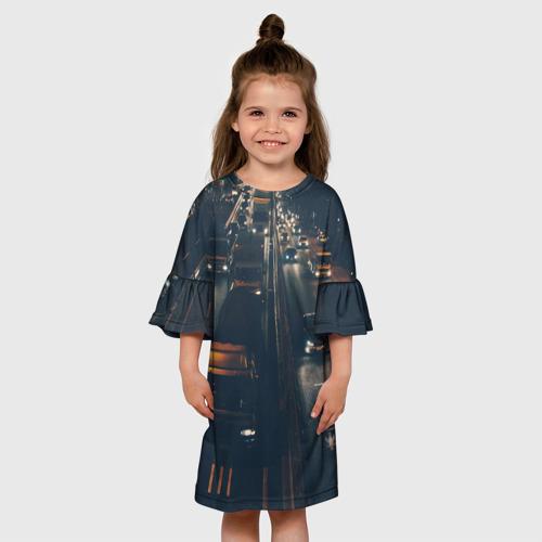 Детское платье 3D  Фото 01, дорога