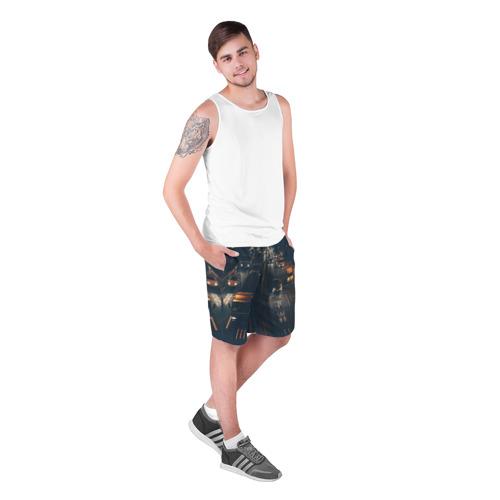 Мужские шорты 3D  Фото 03, дорога