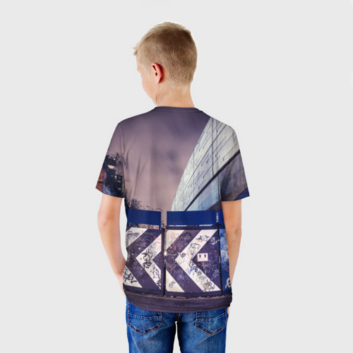 Детская футболка 3D  Фото 02, Граффити