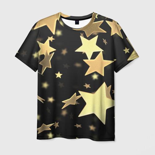 Мужская футболка 3D  Фото 01, Звёзды
