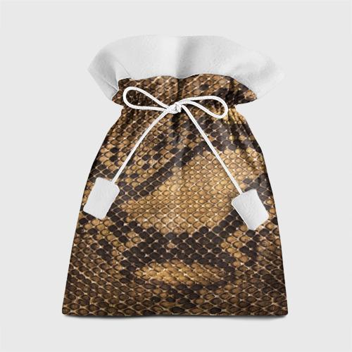 Подарочный 3D мешок  Фото 01, Змеиная кожа