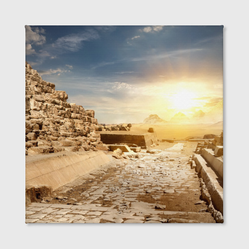 Холст квадратный  Фото 02, Egypt