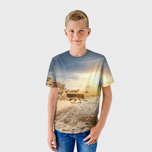 Детская футболка 3D  Фото 01, Egypt