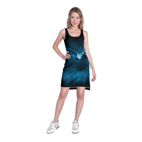 Платье-майка 3D  Фото 03, сова