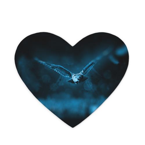 Коврик для мыши сердце  Фото 01, сова