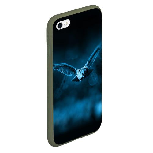 Чехол для iPhone 6/6S матовый сова Фото 01
