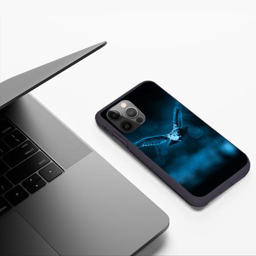 Чехол для iPhone 12 Pro сова Фото 01