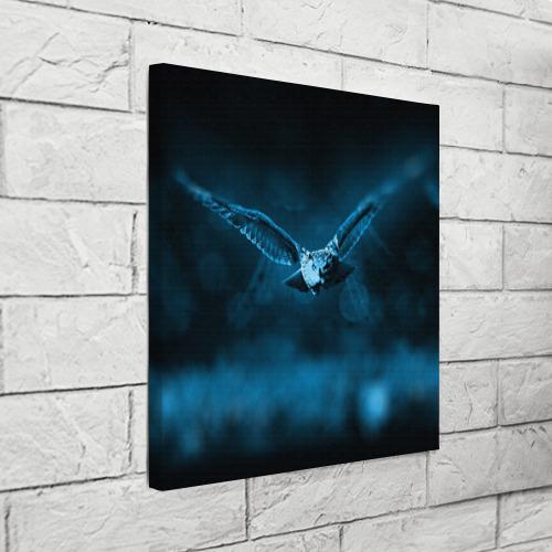 Холст квадратный  Фото 03, сова