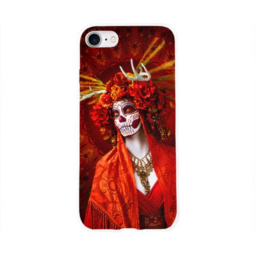 Чехол для Apple iPhone 8 силиконовый глянцевый  Фото 01, День мертвецов