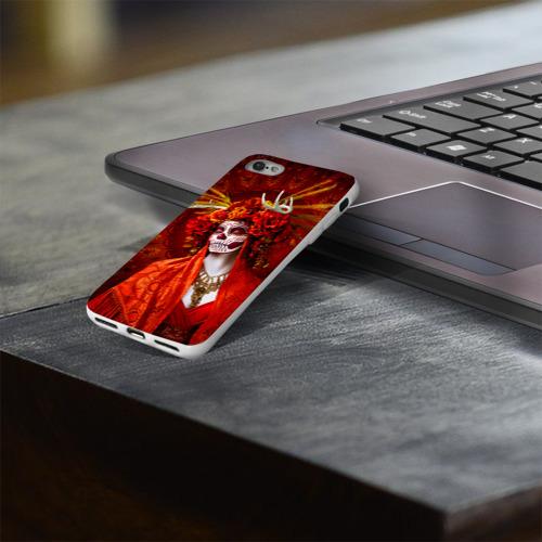 Чехол для Apple iPhone 8 силиконовый глянцевый  Фото 03, День мертвецов
