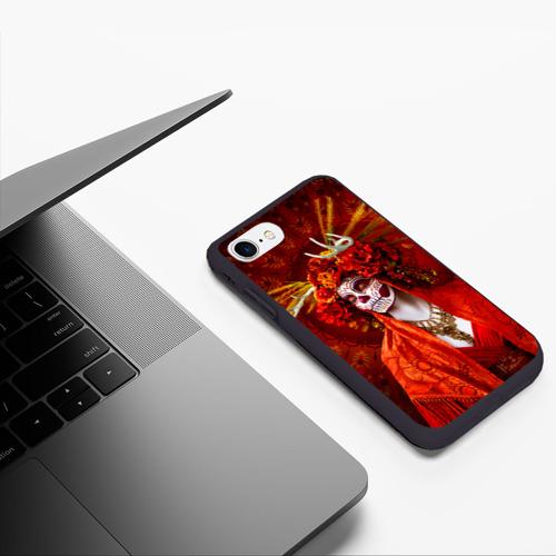Чехол для iPhone 7/8 матовый День мертвецов Фото 01