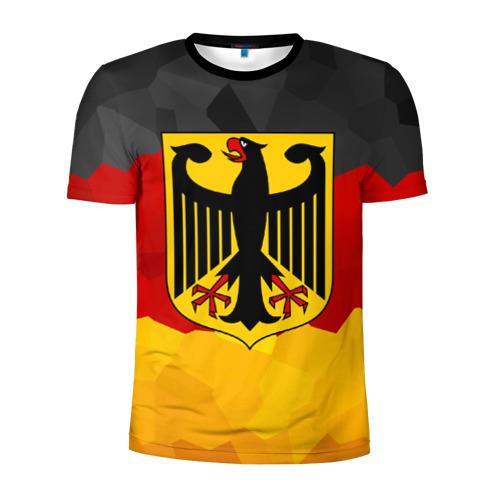 Мужская футболка 3D спортивная Германия