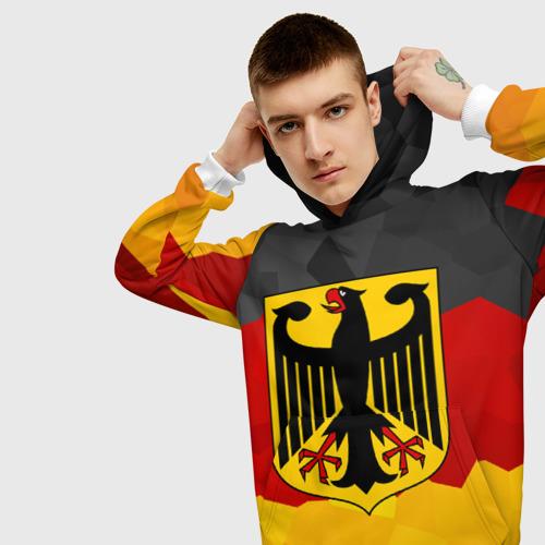 Мужская толстовка 3D Германия