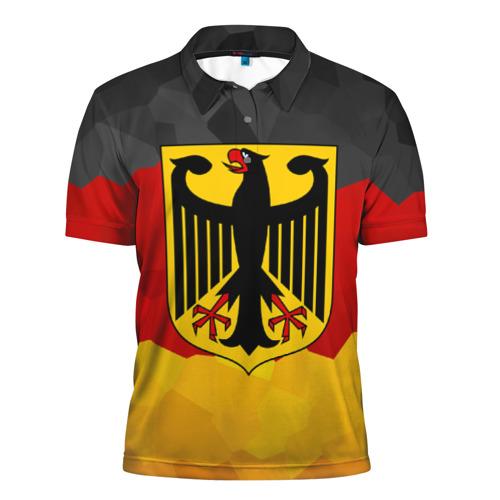 Мужская рубашка поло 3D Германия