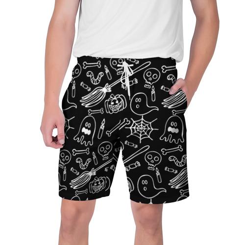 Мужские шорты 3D  Фото 01, Призрачный арт