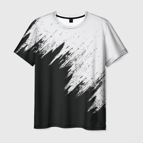 Мужская футболка 3D Краска и ничего лишнего! Фото 01