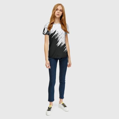 Женская футболка 3D Краска и ничего лишнего! Фото 01