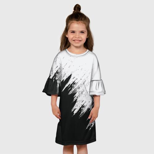 Детское платье 3D Краска и ничего лишнего!