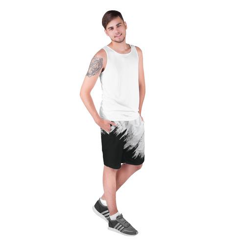 Мужские шорты 3D  Фото 03, Краска и ничего лишнего!