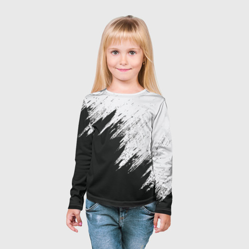 Детский лонгслив 3D Краска и ничего лишнего! Фото 01