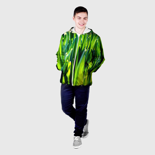 Мужская куртка 3D  Фото 03, Трава