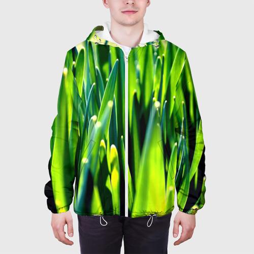 Мужская куртка 3D  Фото 04, Трава