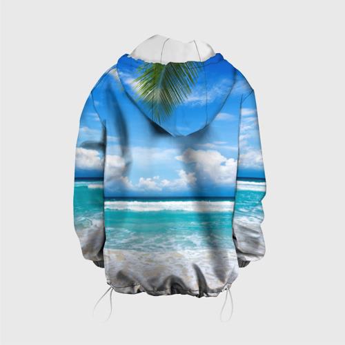 Детская куртка 3D  Фото 02, Карибский пляж