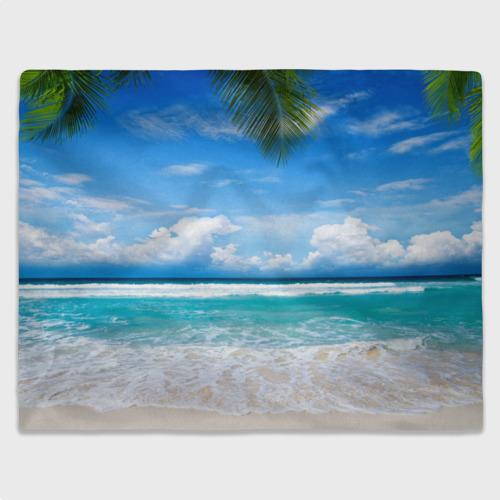 Плед 3D  Фото 03, Карибский пляж