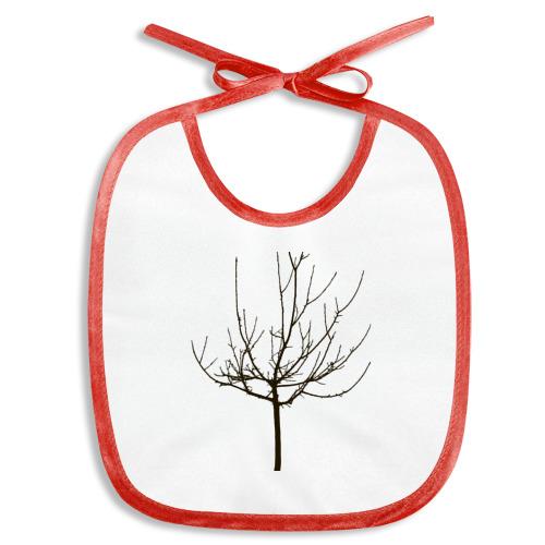 Слюнявчик  Фото 01, Веточка дерева