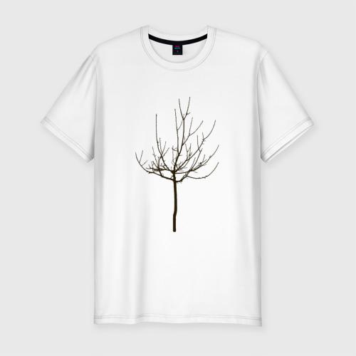 Мужская футболка премиум  Фото 01, Веточка дерева