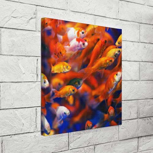 Холст квадратный  Фото 03, Рыбки