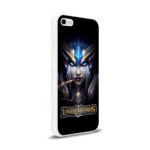 Чехол для Apple iPhone 5/5S силиконовый глянцевый  Фото 02, League of Legends